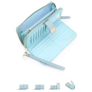 Audry Hoehnen Baby Blue Wallet
