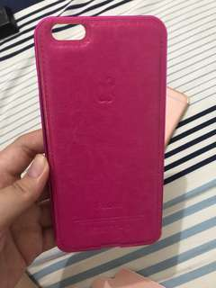 Casing Leather iPhone 6 plus