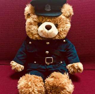 Hong Kong Police Bear 警察熊仔