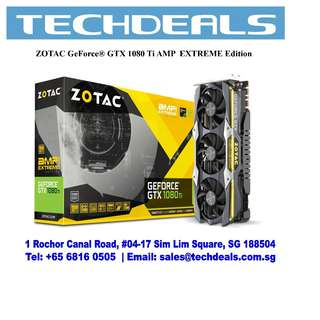 Zotac GTX 1080Ti AMP EXTREME 11GD5X Graphic Card