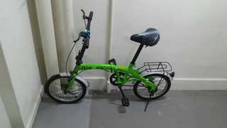 Folding bike for kids