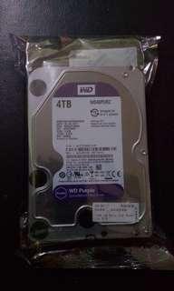 4TB Western Digital purple HDD