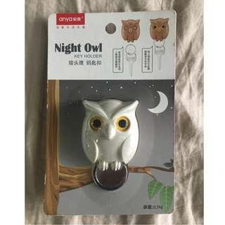 Night Owl Key Holder