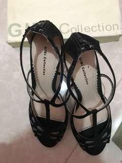 Gibi Black Heels  (size 7)