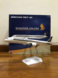 1/200 JC Wings Singapore Airlines Boeing B787-10
