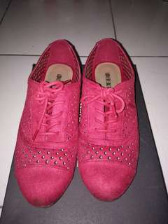 Red Rojo Roudge shoes