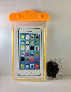 Orange Waterproof Case