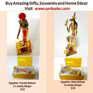 Egyptian statue figurin for home display n gift
