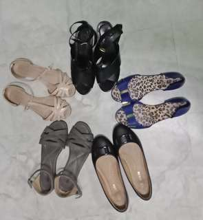 Take All Bundle of 5 shoes