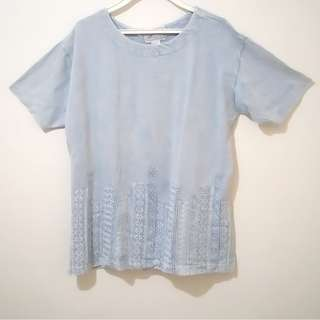 Denim-like shirt for 2XL