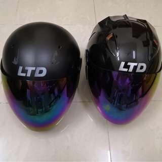 2pcs LTD Helmet Like New