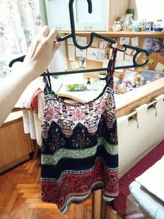 Cotton On Camisole/Sleeveless Top - (Bohemian patterns)