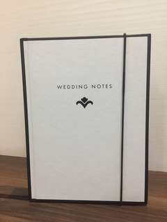 Kikki.k wedding planner/wedding notes