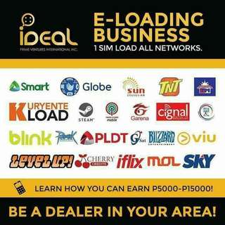 BE A DEALER/FRANCHISE OF OUR TOP TELCO IN THE PHILIPPINES (ISO CERTIFIED)