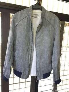 REPRICED: Zara Man Premium Linen Weave Jacket
