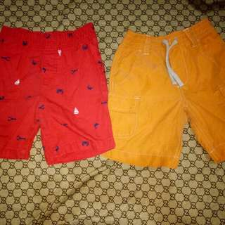 Take all Shorts for him(Size 5-6y/o)