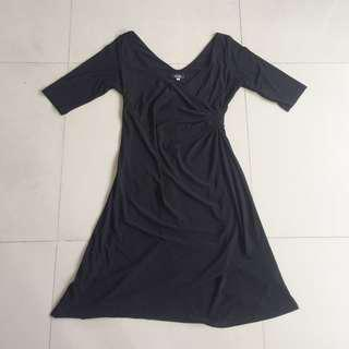 SALE!!Vola Plus Size Black Dress