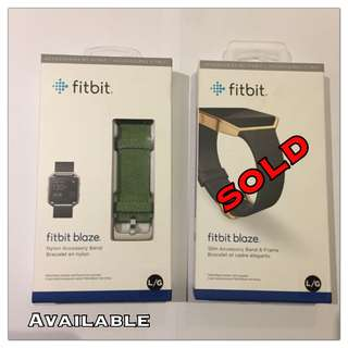 (NEW) Fitbit accessories