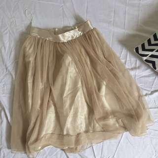 Champagne Tutu Skirt