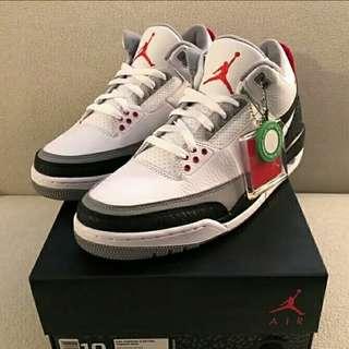 Nike Air Jordan 3 Retro White Cement Tinker