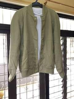 REPRICED: Zara Man Premium Linen Bomber Jacket