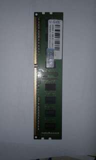 Memory Ram V Gen DDR3 2 GB PC-12800 for PC