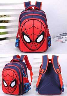 Bag pack spiderman