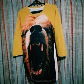 Culture 3/4 Printed Shirt
