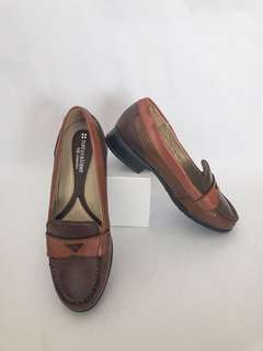 Naturalizer Brown Boat Shoes