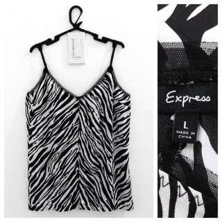 Express Silky Animal Print Top