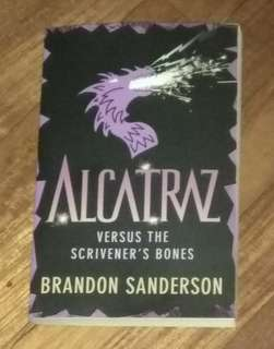 English fictional book- Alcatraz versus the scrivener's bones