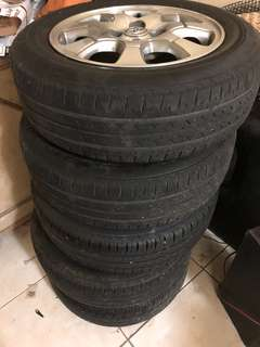 For sale tire and mags