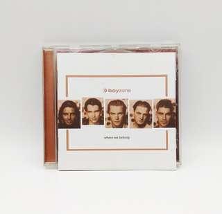 Boyzone Where We Belong CD