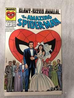 Rare Spider-Man Special Wedding Issue comics