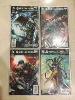 Mortal Kombat X comics