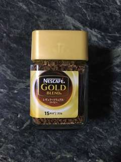 Nescafé Gold blend coffee