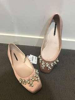 Zara Flats Size 38