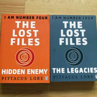 [Paperback] Lorien Legacies The Lost Files series: Hidden Enemy, The Legacies