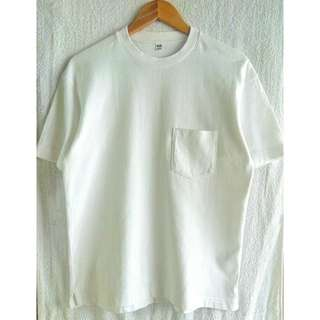 Uniqlo Unisex White Shirt