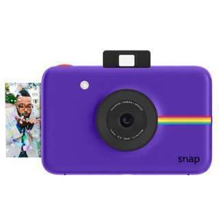 🚚 Polaroid snap紫色
