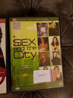 Sex and the City complete seasons 1, 5 and 6