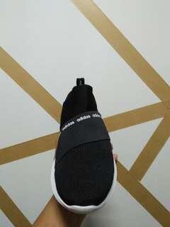 Adidas slip on refind black white