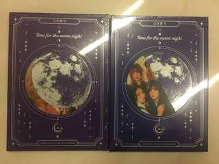 "Gfriend 專輯 全新未拆""Time for the moon night"""
