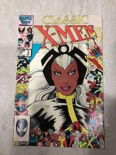 Classic X-Men #3 comics