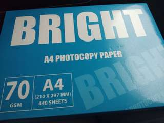 A4 papers (70gsm , 440 sheets)