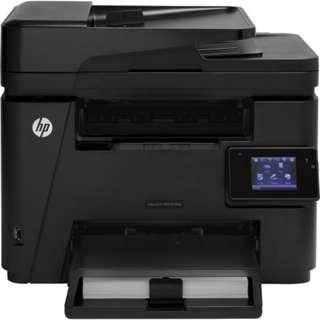 HP Laserjet pro mfp m225dw 黑白