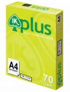 A4 papers IK Plus(70gsm)
