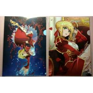 Fate Last/Encore Nero A4 folder