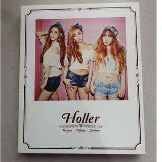 Girls Generation (SNSD) TTS- Holler Album