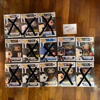 Funko Pop DC Clearance
